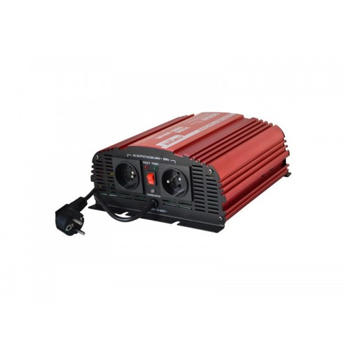 Menič napätia CARSPA CPS600 12V/230V 600W čistá sínusoida UPS + nabíjačka