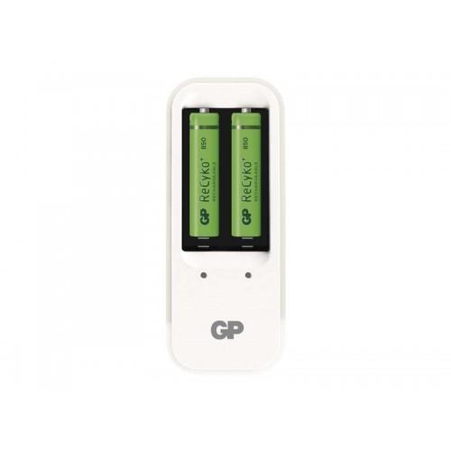 Nabíjačka GP PB410 + 2xAAA Recyko+ 850