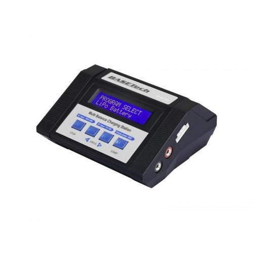 Modelárska multifunkčná nabíjačka Basetech 100 V, 240 V, 12 V 10 A