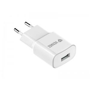 Nabíjačka YENKEE YAC 2013WH USB 2400mm