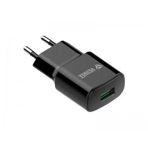 Nabíjačka YENKEE YAC 2023BK USB QC3.0
