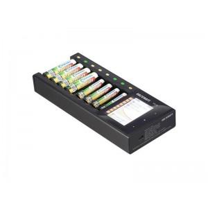 Nabíjačka akumulátorov VOLTCRAFT IPC-8 NiMH, NiCd, NiZn, Li-Ion, LiHV, LiFePO, AA, AAA, 14500, 10440