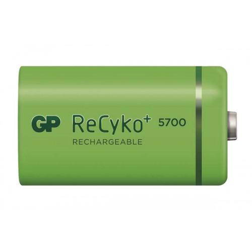 Batéria D (R20) nabíjacia GP Recyko + 5700mAh