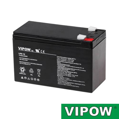 Batéria olovená 12V/ 9Ah VIPOW bezúdržbový akumulátor