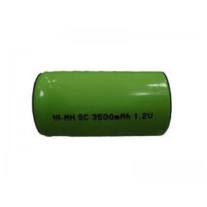 Nabíjací článok NiMH SC 1,2 V/3500mAh pásk. vývody 44x22mm
