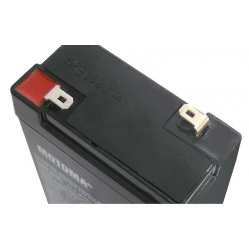 Batéria olovená 6V/ 2,8Ah MOTOMA bezúdržbový akumulátor