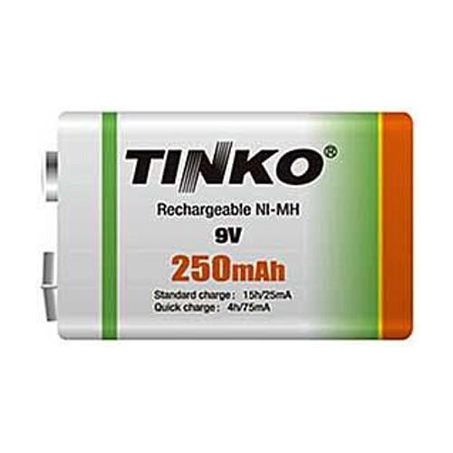 Batéria 6F22 (9V) nabíjacia TINKO NiMH 250mAh