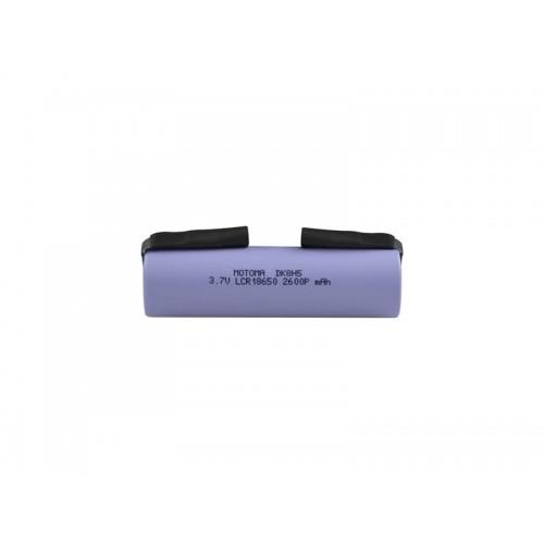 Nabíjacie batérie Li-Ion LCR18650 3,7V / 2600mAh 5C MOTOMA