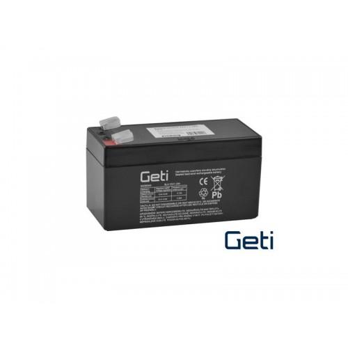 Batéria olovená 12V / 1.2Ah GETI