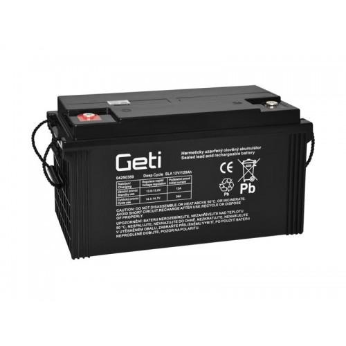 Batéria olovená 12V 120Ah Geti pre fotovoltaiku