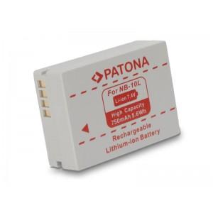 Batéria foto CANON NB10l 750mAh PATONA PT1097