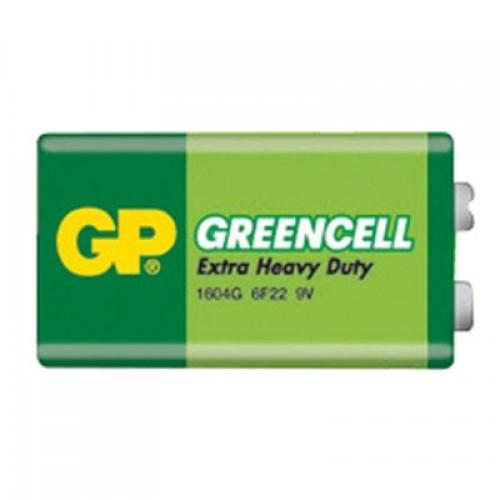 Batéria 9V GP Greencell blok fólia