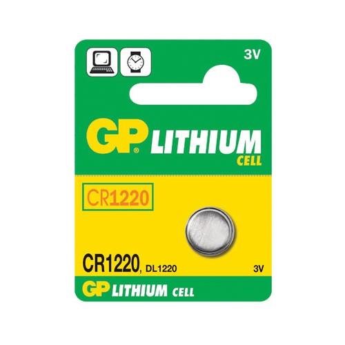 Batéria CR1220 GP líthiová