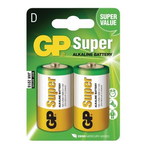 Batéria GP alkalická D fólia