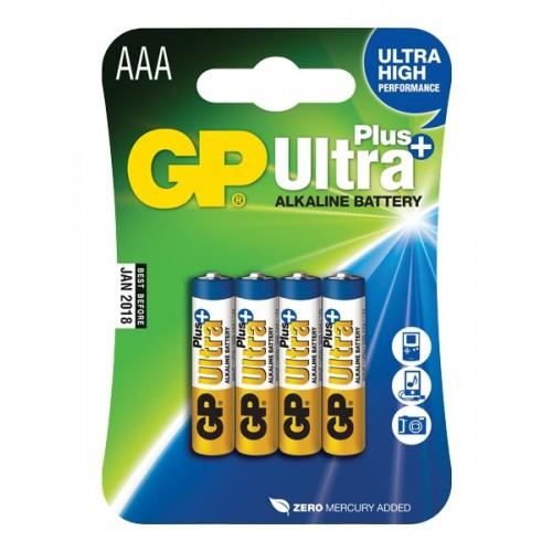 Batéria GP ultraalkalická Plus AAA