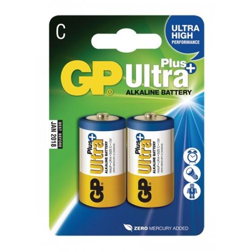 Batéria GP Ultraalkalická Plus C