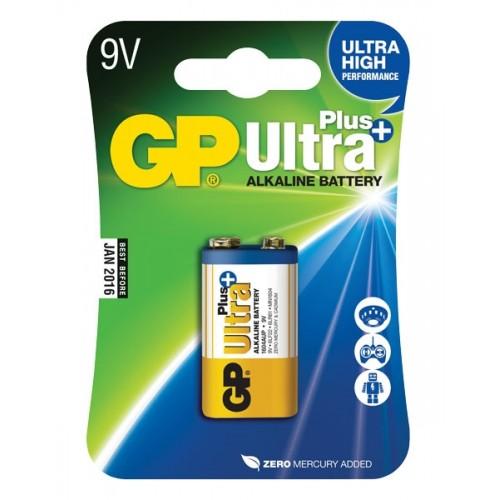 Batéria GP Ultraalkalická Plus 9V blok