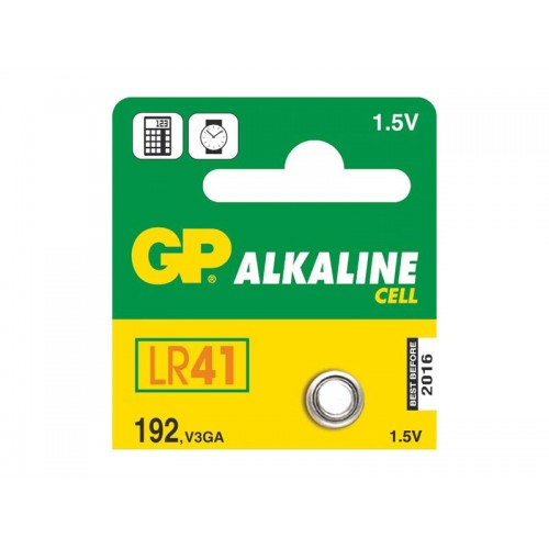Batéria LR41 (192) GP alkalická