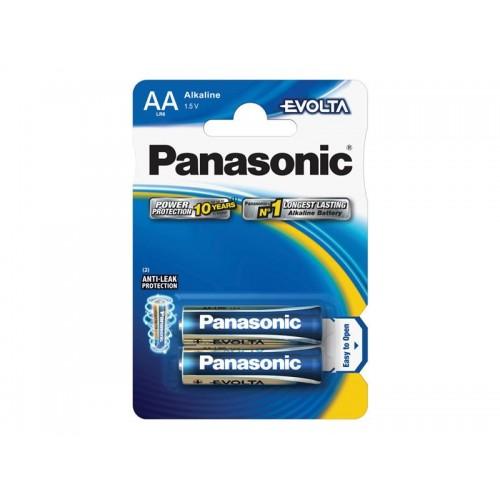 Batéria AA (R6) alkalická PANASONIC Evolta LR6 2BP