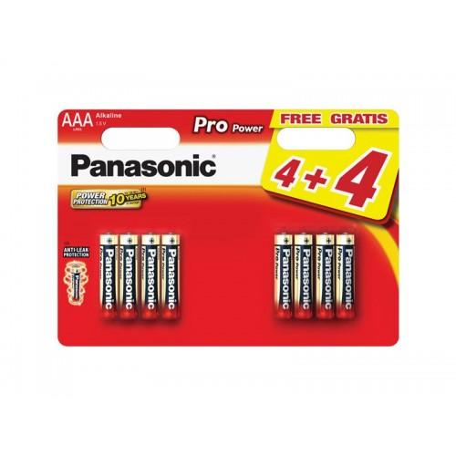Batéria AAA(LR03) alkalická PANASONIC Pro Power 8BP