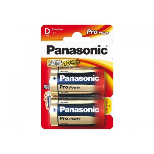 Batéria D (R20) alkalická PANASONIC Pro Power LR20 2BP