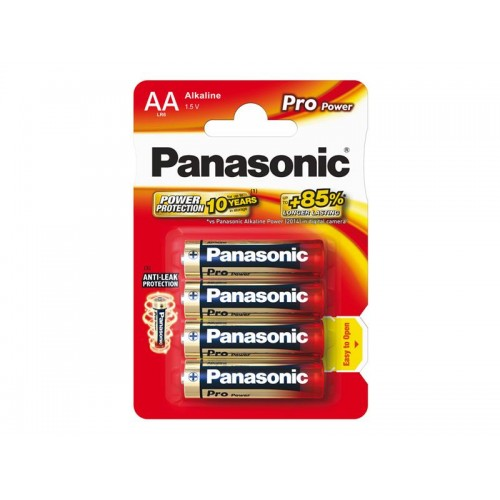 Batéria AA (R6) alkalická PANASONIC Pro Power LR6 4BP