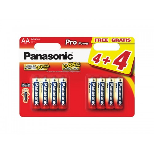 Batéria AA (R6) alkalická PANASONIC Pro Power LR6 8BP