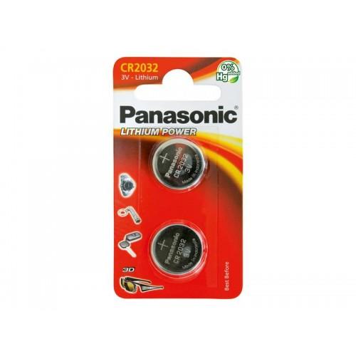Batéria CR2032 PANASONIC lithiová 2BP
