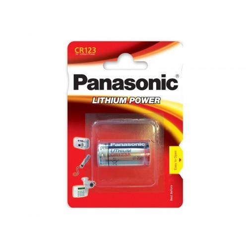 Batéria CR123 PANASONIC lithiová 1BP