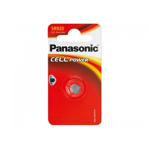 Batéria 370 PANASONIC do hodiniek 1bp striebrooxidová