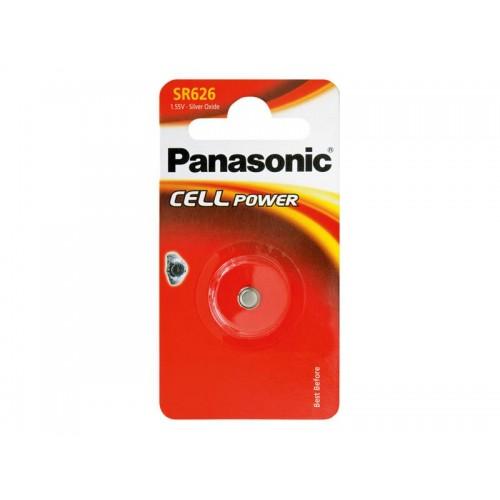 Batéria 377 PANASONIC do hodinek 1bp striebrooxidová