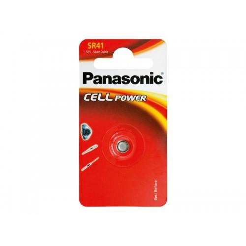 Batéria 392 PANASONIC do hodinek 1bp striebrooxidová