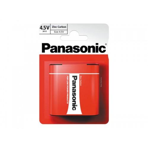 Batéria 3R12 (4,5V) Red zinkouhlíková, PANASONIC