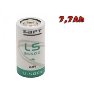 Batéria SAFT LS 26500 lítiový článok STD 3.6V, 7700mAh