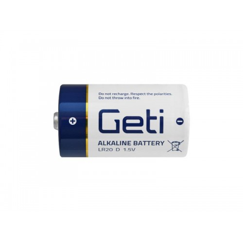 Batéria D (LR20) alkalická Geti