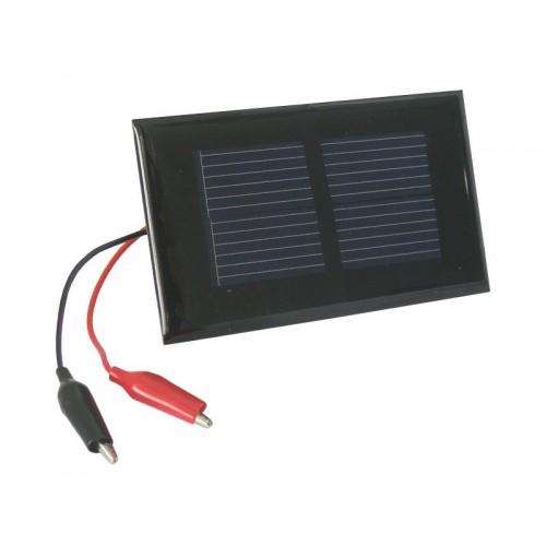 Fotovoltaický solárny článok 1V / 0,2W (panel) + káblové vývody