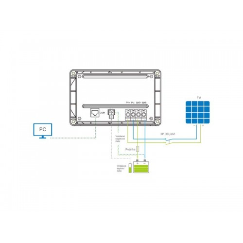 Solárny regulátor PWM EPsolar 30A 12/24V Goma
