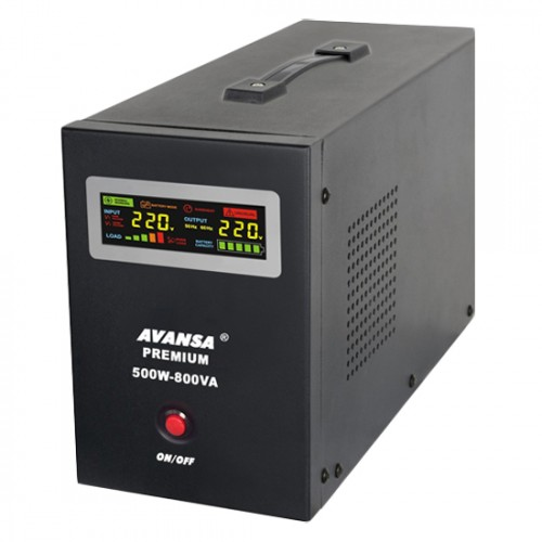 Záložný zdroj pre obehové čerpadlá AVANSA UPS 500W 12V