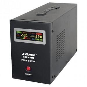 Záložný zdroj pre obehová čerpadla AVANSA UPS 700W 12V