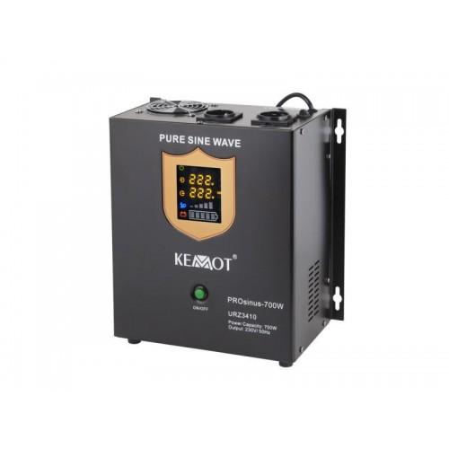 Záložný zdroj KEMOT PROsinus-700W 12V URZ3410