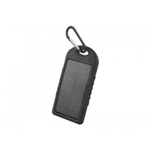 PowerBank 5000 mAh, solárna, čierna FOREVER PB-016